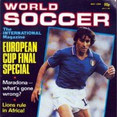 Coleccionismo deportivo: WORLD SOCCER MAYO 1984. Lote 182449555
