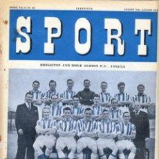 Coleccionismo deportivo: SPORT (BRITÁNICA) 15-08-1952. Lote 182449585