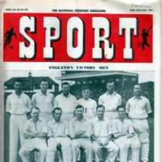 Coleccionismo deportivo: SPORT (BRITÁNICA) 16-06-1950. Lote 182449590