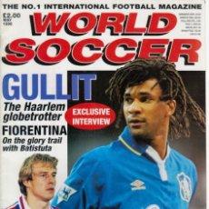 Coleccionismo deportivo: WORLD SOCCER MAYO 1996. Lote 182449640