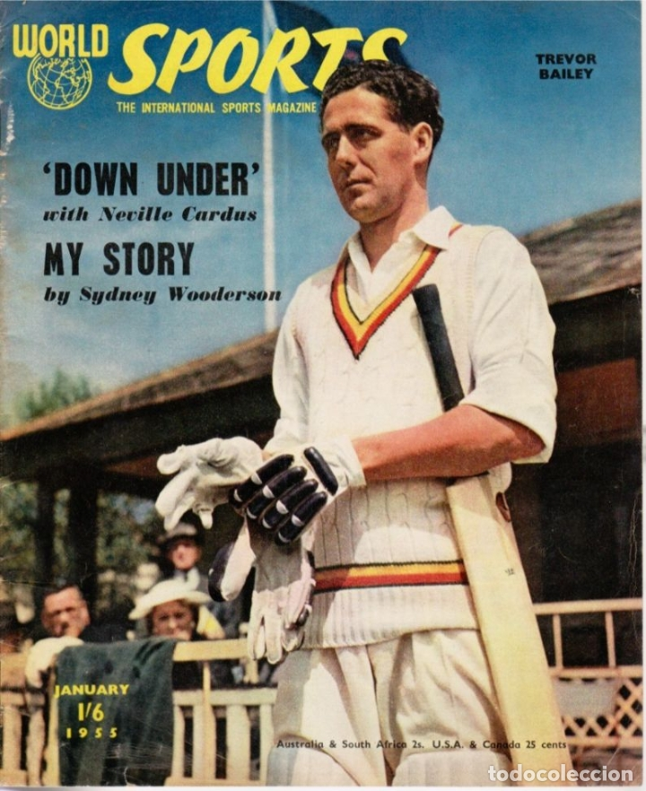 WORLD SPORTS ENERO 1955 (Coleccionismo Deportivo - Revistas y Periódicos - otros Fútbol)