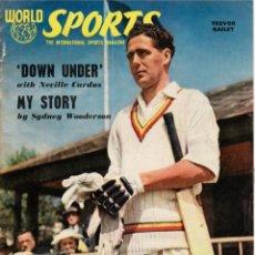 Coleccionismo deportivo: WORLD SPORTS ENERO 1955. Lote 182449667