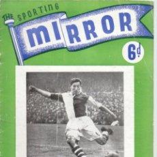 Coleccionismo deportivo: THE SPORTING MIRROR 12-12-1947. Lote 182449810