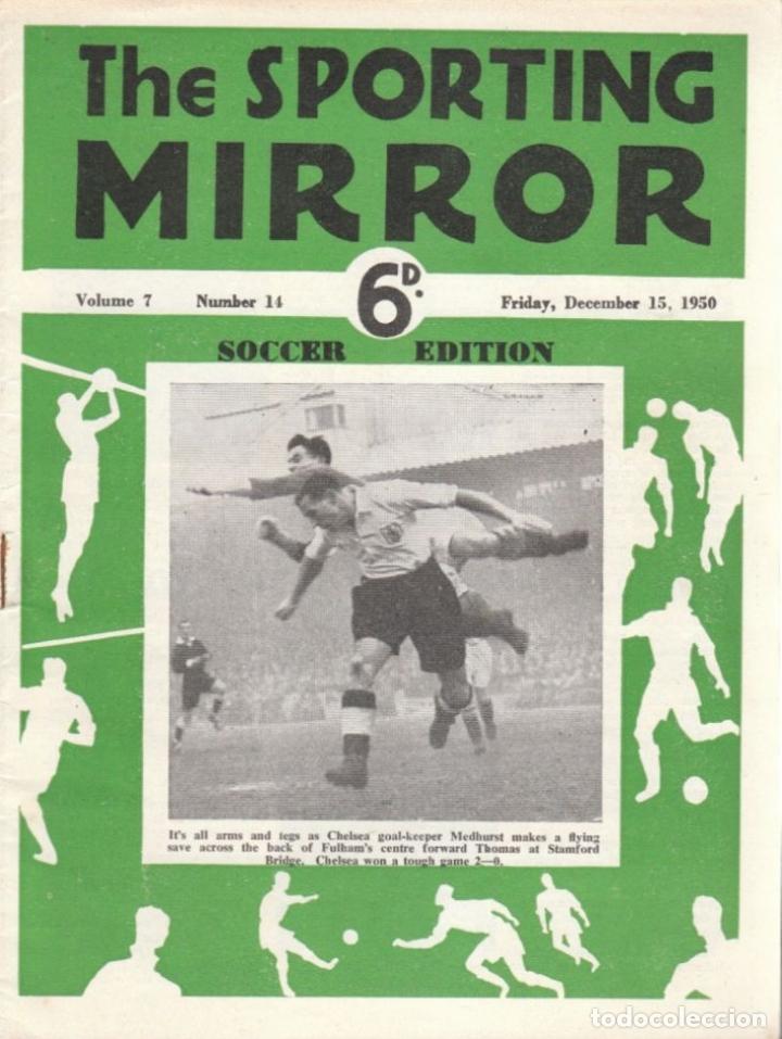 THE SPORTING MIRROR 15-12-1950 (Coleccionismo Deportivo - Revistas y Periódicos - otros Fútbol)