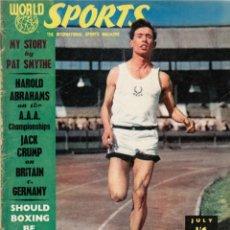 Coleccionismo deportivo: WORLD SPORTS JULIO 1955. Lote 182449910