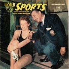 Coleccionismo deportivo: WORLD SPORTS SEPTIEMBRE 1956. Lote 182449942