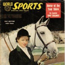 Coleccionismo deportivo: WORLD SPORTS OCTUBRE 1953. Lote 182449947