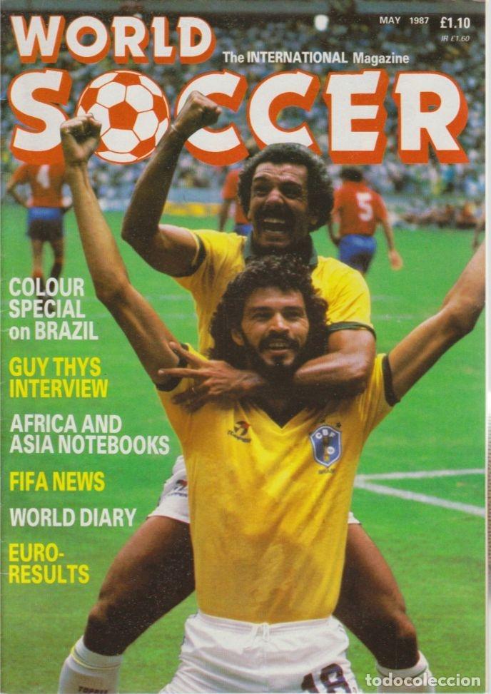 WORLD SOCCER MAYO 1987 (Coleccionismo Deportivo - Revistas y Periódicos - otros Fútbol)