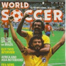 Coleccionismo deportivo: WORLD SOCCER MAYO 1987. Lote 182450100