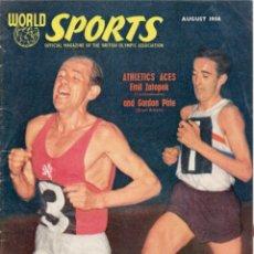 Coleccionismo deportivo: WORLD SPORTS AGOSTO 1956. Lote 182450296