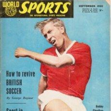 Coleccionismo deportivo: WORLD SPORTS SEPTIEMBRE 1958. Lote 182450311
