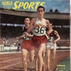 Coleccionismo deportivo: WORLD SPORTS DICIEMBRE 1953. Lote 182450322