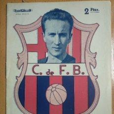 Coleccionismo deportivo: BOLETIN F.C. BARCELONA DEDICADO A ESTANISLAO BASORA. BIOGRAFIA. ED. ALAS. CON FOTOS. 16 PAGS.. Lote 182644385