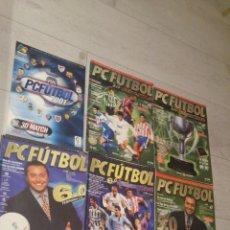 Coleccionismo deportivo: LOTE DE 7 REVISTAS PC FUTBOL. Lote 182731185