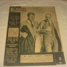 Coleccionismo deportivo: BARÇA N. 314 . DICIEMBRE 1961. KUBALA, LLAUDET PRESIDENTE DEL BARÇA , LUIS SUAREZ.... Lote 182832620