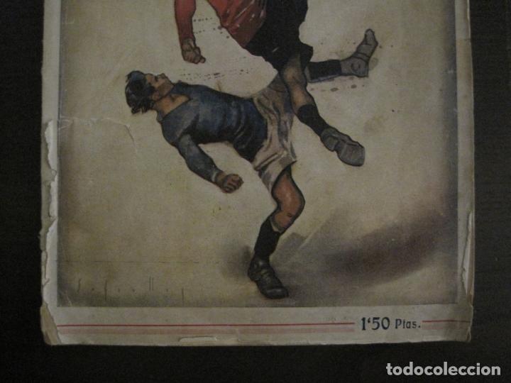 Coleccionismo deportivo: HISTORIA DEL CAMPEONATO DE FUTBOL DE CATALUÑA 1922 1923-CON FOTOGRAFIAS-VER FOTOS-(V-18.057) - Foto 3 - 182871472