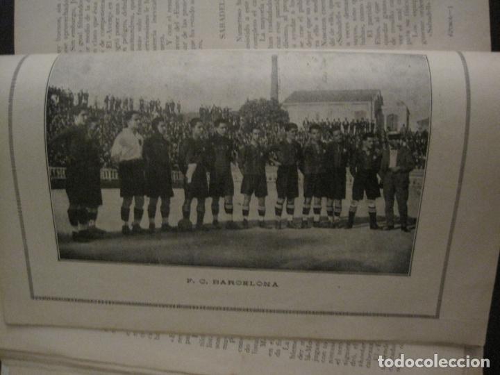 Coleccionismo deportivo: HISTORIA DEL CAMPEONATO DE FUTBOL DE CATALUÑA 1922 1923-CON FOTOGRAFIAS-VER FOTOS-(V-18.057) - Foto 11 - 182871472