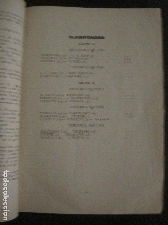 Coleccionismo deportivo: HISTORIA DEL CAMPEONATO DE FUTBOL DE CATALUÑA 1922 1923-CON FOTOGRAFIAS-VER FOTOS-(V-18.057) - Foto 12 - 182871472