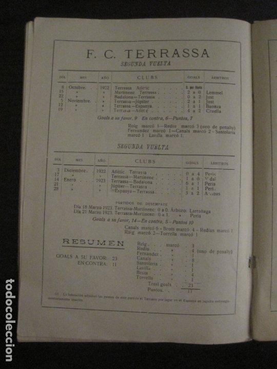 Coleccionismo deportivo: HISTORIA DEL CAMPEONATO DE FUTBOL DE CATALUÑA 1922 1923-CON FOTOGRAFIAS-VER FOTOS-(V-18.057) - Foto 24 - 182871472