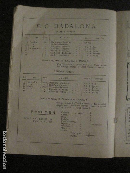Coleccionismo deportivo: HISTORIA DEL CAMPEONATO DE FUTBOL DE CATALUÑA 1922 1923-CON FOTOGRAFIAS-VER FOTOS-(V-18.057) - Foto 28 - 182871472