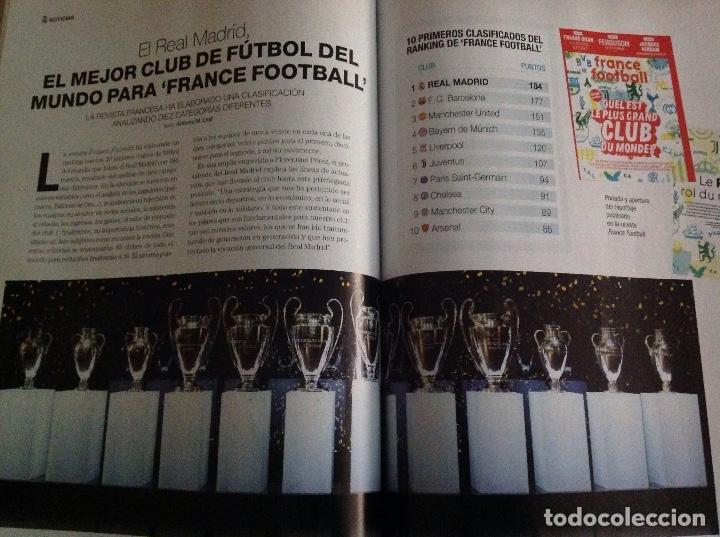 Coleccionismo deportivo: Revista: Hala Madrid. Numero 70. Real Madrid. Acm - Foto 3 - 182987432