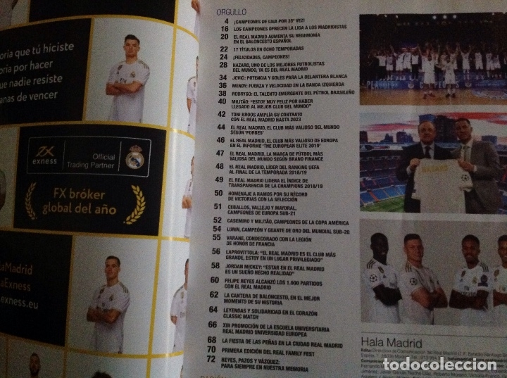 Coleccionismo deportivo: Revista: Hala Madrid. Real Madrid. Numero 71.acm - Foto 2 - 182987828