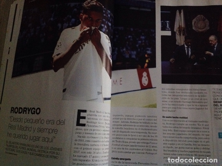 Coleccionismo deportivo: Revista: Hala Madrid. Real Madrid. Numero 71.acm - Foto 5 - 182987828