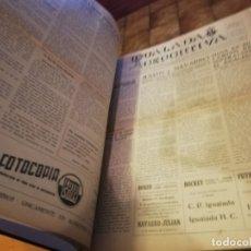Coleccionismo deportivo: 3 TOMOS IGUALADA DEPORTIVA ENCUADERNADO 1951 1953 SUPLEMENTO DEL SEMANARIO IGUALADA. Lote 183023480