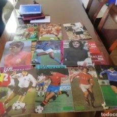 Coleccionismo deportivo: MUNDIALES DE FÚTBOL. ESPAÑA 1982. 8 FASCICULOS PREMUNDIAL Y MUNDIAL.. Lote 183169775