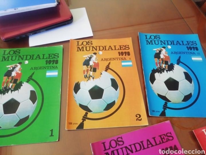 Coleccionismo deportivo: Mundiales de fútbol. Argentina 1978. 3 fasciculos numerados . - Foto 2 - 183170247