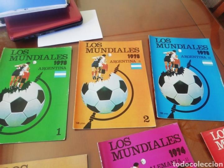 MUNDIALES DE FÚTBOL. ARGENTINA 1978. 3 FASCICULOS NUMERADOS . (Coleccionismo Deportivo - Revistas y Periódicos - otros Fútbol)