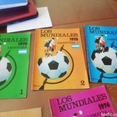 Coleccionismo deportivo: MUNDIALES DE FÚTBOL. ARGENTINA 1978. 3 FASCICULOS NUMERADOS .. Lote 183170247