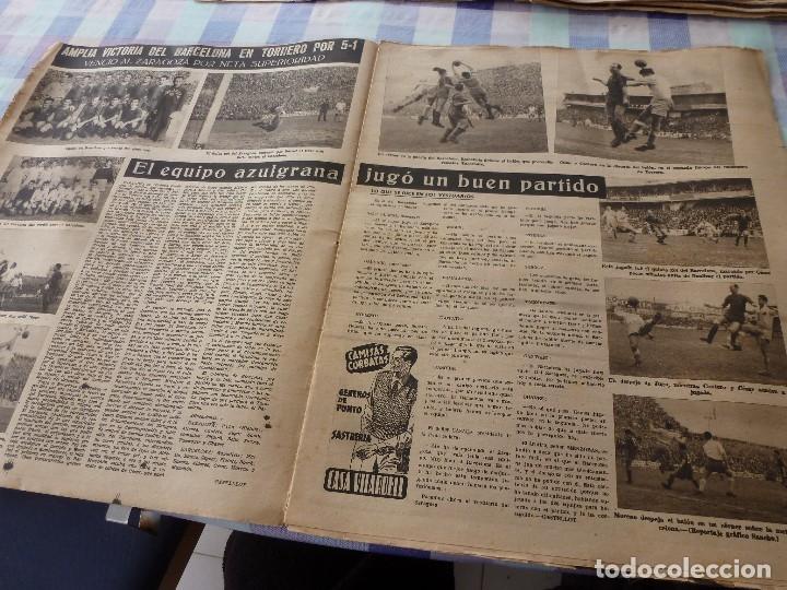 Coleccionismo deportivo: (LLL)-OLIMPIA Nº: 7(28-10-52)ZARAGOZA 1 BARÇA 5,BILBAO 6 ESPAÑOL 2,KUBALA Y DR.RECASENS. - Foto 3 - 183191656