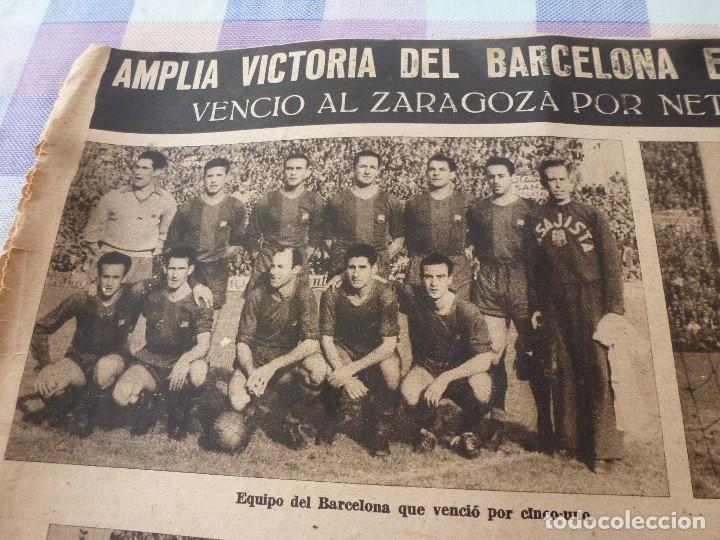 Coleccionismo deportivo: (LLL)-OLIMPIA Nº: 7(28-10-52)ZARAGOZA 1 BARÇA 5,BILBAO 6 ESPAÑOL 2,KUBALA Y DR.RECASENS. - Foto 4 - 183191656