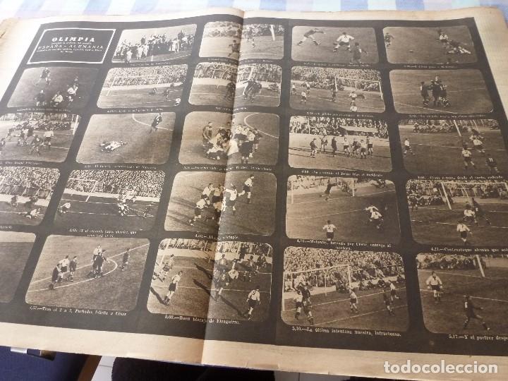 Coleccionismo deportivo: (LLL)-OLIMPIA Nº: 16(30-12-52)ESPAÑA 2 ALEMANIA 2,BARÇA CAPITULO 5,FIGURA:MARIANO MARTIN,CLAUDIO RIU - Foto 6 - 183200010
