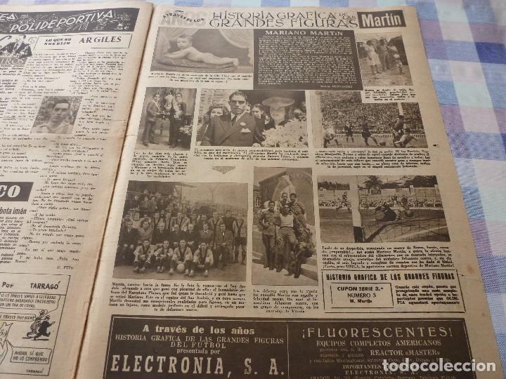 Coleccionismo deportivo: (LLL)-OLIMPIA Nº: 16(30-12-52)ESPAÑA 2 ALEMANIA 2,BARÇA CAPITULO 5,FIGURA:MARIANO MARTIN,CLAUDIO RIU - Foto 9 - 183200010