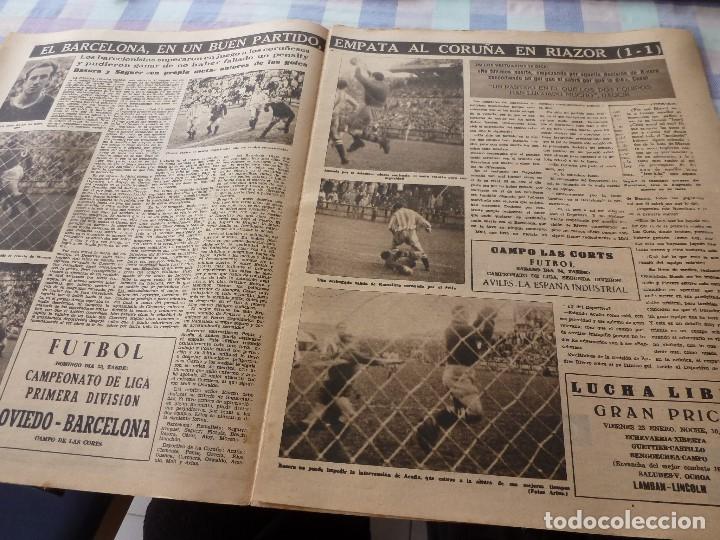 Coleccionismo deportivo: (LLL)-OLIMPIA Nº: 19(20-1-53)ESPAÑOL 6 CALTA 1-PAZOS-DEPOR 1 BARÇA 1,BARÇA CAPIT 8,FIGURA:PARERA - Foto 2 - 183200407