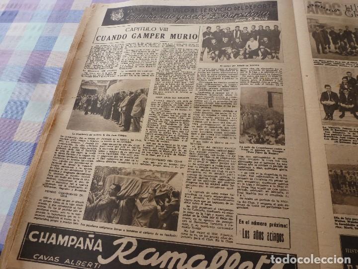 Coleccionismo deportivo: (LLL)-OLIMPIA Nº: 19(20-1-53)ESPAÑOL 6 CALTA 1-PAZOS-DEPOR 1 BARÇA 1,BARÇA CAPIT 8,FIGURA:PARERA - Foto 10 - 183200407