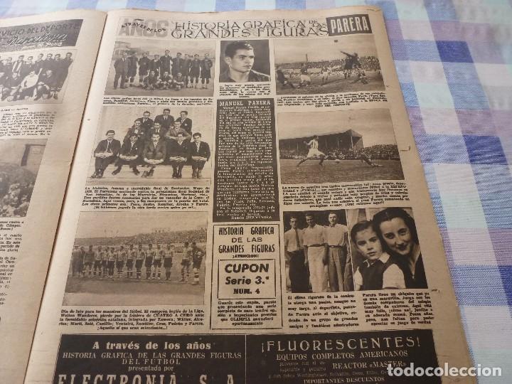 Coleccionismo deportivo: (LLL)-OLIMPIA Nº: 19(20-1-53)ESPAÑOL 6 CALTA 1-PAZOS-DEPOR 1 BARÇA 1,BARÇA CAPIT 8,FIGURA:PARERA - Foto 11 - 183200407