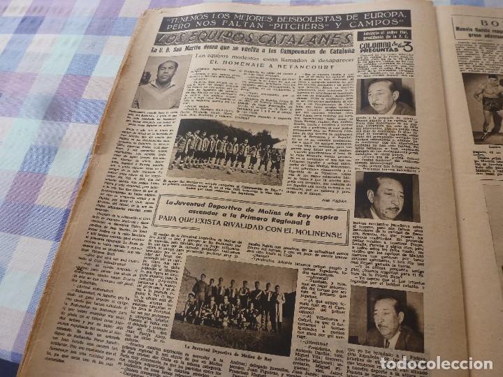 Coleccionismo deportivo: (LLL)-OLIMPIA Nº: 19(20-1-53)ESPAÑOL 6 CALTA 1-PAZOS-DEPOR 1 BARÇA 1,BARÇA CAPIT 8,FIGURA:PARERA - Foto 12 - 183200407