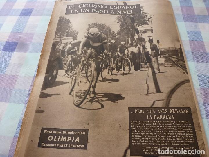 Coleccionismo deportivo: (LLL)-OLIMPIA Nº: 19(20-1-53)ESPAÑOL 6 CALTA 1-PAZOS-DEPOR 1 BARÇA 1,BARÇA CAPIT 8,FIGURA:PARERA - Foto 14 - 183200407