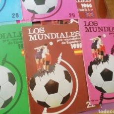 Coleccionismo deportivo: MUNDIALES DE FÚTBOL. INGLATERRA 1966. 3 CUADERNILLOS DOSSIER.. Lote 183204776