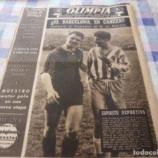 Coleccionismo deportivo: (LLL)-OLIMPIA Nº: 31(14-4-53)BARÇA CAPT.20,ESPAÑOL 0 BARÇA 2,FIGURA:MALLORQUÍ.AUTOMOVILISMO. Lote 183233718
