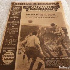 Coleccionismo deportivo: (LLL)-OLIMPIA Nº:51(29-9-53)BODAS ORO ESPAÑOL CAP.17,ROCKY MARCIANO,VALLADOLID 2 BARÇA 2. Lote 183276947