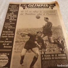 Coleccionismo deportivo: (LLL)-OLIMPIA Nº:56(3-11-53)BARÇA 1 OSASUNA 0,C.F.BARCELONETA,COPPI(CICLISMO)OVIEDO 1 ESPAÑOL 1. Lote 183279471