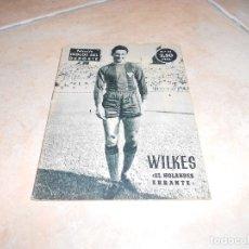 Coleccionismo deportivo: IDOLOS DEL DEPORTE, Nº 31, NOVIEMBRE 1958. WILKES. EL HOLANDÉS ERRANTE (FÚTBOL). Lote 183325973