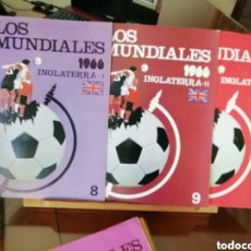 Coleccionismo deportivo: COLECCIÓN MUNDIALES FÚTBOL. DESDE 1930 A 1982.... 30 FASCICULOS. Lote 183445217