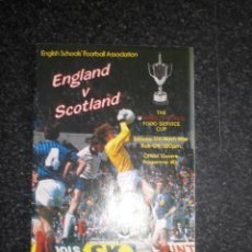 Coleccionismo deportivo: PROGRAMA ENGLAND SCOTLAND 1983/84 83/84. Lote 183468501