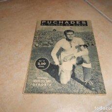 Coleccionismo deportivo: COLECCIÓN ÍDOLOS DEL DEPORTE - Nº 9 - PUCHADES - 1958 - MUY ANTIGUO - MEJOR VER FOTOS!. Lote 183513850