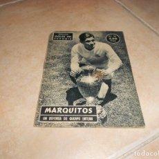 Coleccionismo deportivo: COLECCIÓN IDOLOS DEL DEPORTE Nº 26. MARQUITOS. UNIÓN DISTIBUIDORA DE EDICIONES 1958.. Lote 183514155